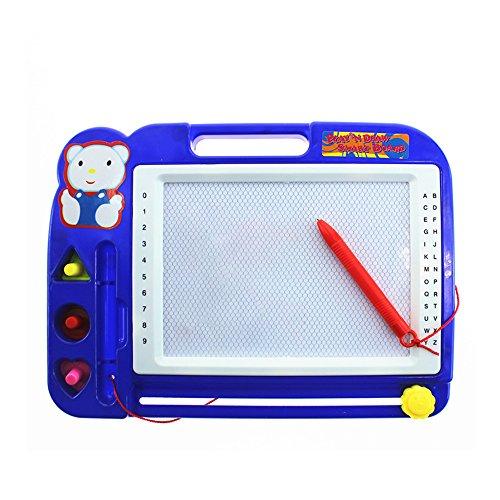 Kinder Magnetische Zeichnung Malerei Schreibtafel Löschbaren Bunten Magna Doodle Spielzeug (Zufällige Farbe) Kinder Kunststoff magnetische Direkt Farbe eine TablettenStück