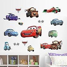 XXL Aufkleber Sticker Set Cars mit McQueen für das Kinderzimmer
