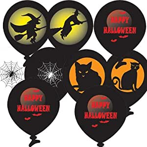 "Halloween all around Balloons 11"" (Pack of 10) at Amazing Price!!!"