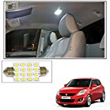 #7: Vheelocityin 16 SMD LED Roof Light White Dome Light for Maruti Suzuki Swift New