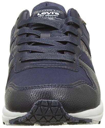 Levis Baylor, Baskets Homme Bleu (Navy Blue)