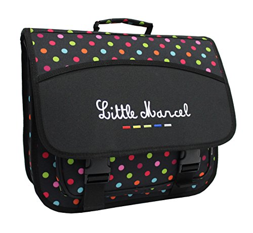 Cartable Scolaire Little Marcel - 40cm - Petits Pois