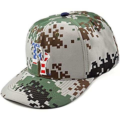 Camouflage Esecuzione Visor Cap,DSRAY 2016 Nuovo Cotone Ricamato Berretto Da Baseball Per Outdoor Sport Golf