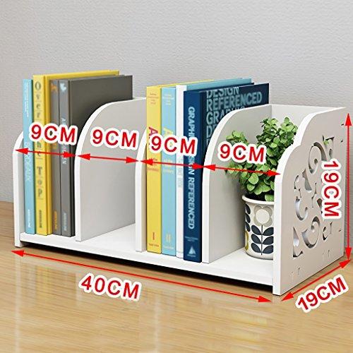 Mobile 5-regal Bücherregal (TH Europäische Desktop Bücherregal Einfache Regal Home Finishing Rack Schreibtisch Lagerregal Wohnzimmer Lagerung Regal ( Farbe : #5 ))