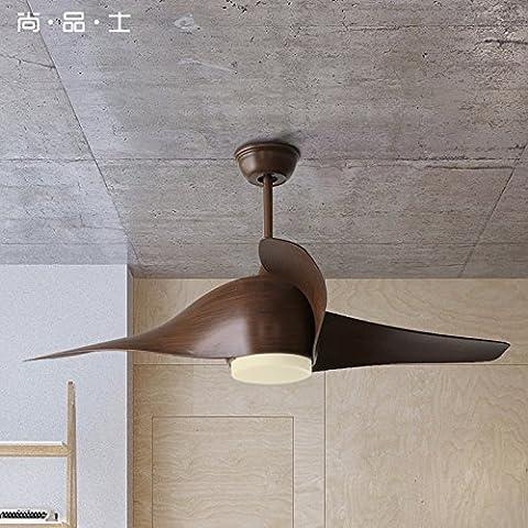 LINA-Lampadari di ventola continental moderno minimalista ed elegante ristorante remoto spirale retrò di pala di ventilatore ventilatore a soffitto