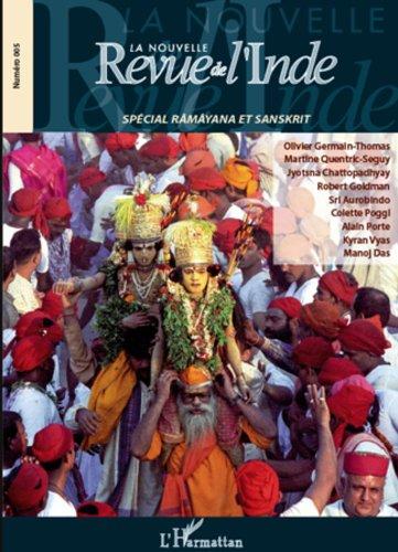 Livre gratuits La Nouvelle revue de l'Inde 5: Spécial Râmâyana et sanskrit epub pdf