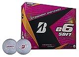 Bridgestone Golf e6 Soft Golf Balls, Lady Edition, Female Soft (Dozen Golf Balls)