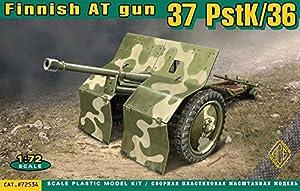 Ace 1/72 finlandesa cañón antitanque de 37 PSTK / 36 # 72534 - Kit Modelo plástico