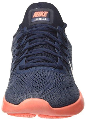 Nike 855808-401, Scarpe da Trail Running Uomo Blu (Squadron Blau/weiß-dunkel Obsidian-helles Mango Orange)