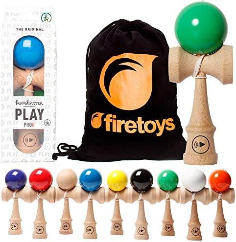 Kendamaeurope Play Pro II K K K compétition Standard Kendama et Firetoys® Sac à cordon. Plusieurs couleurs disponibles. e366cd