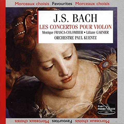 J.S.Bach : Les Concertos pour (là mineure, mi majeure) et deux violons (ré mineure et ut mineure)