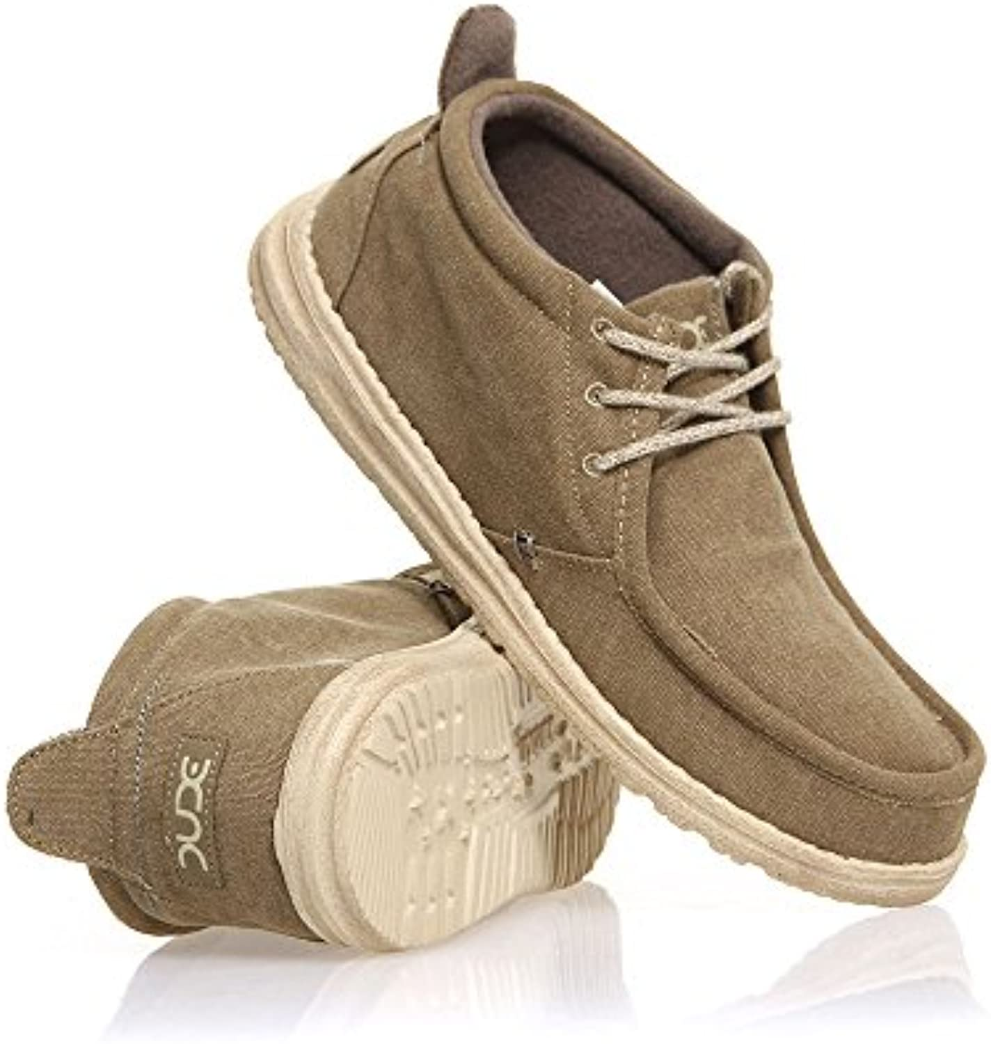 Hola Oliva De Conrad Dude Shoes Hombres Lona Arranque UK9 / EU43