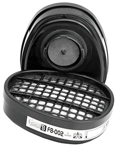 JSP bmn 380-011-700 Force 8 P2 Staubfilter Tintenpatronen (2 Stück) -