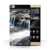 Stuff4 Phone Case for Huawei P8 Max Waterfalls Shallows