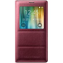 Samsung S-View Etui pour Samsung Galaxy Note 4 Plum Red