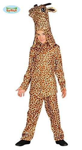 Giraffen Kostüm für Kinder Gr. 110 - 146, (Kinder Kostüm Für Antarktis)