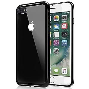 ubegood coque iphone 7 iphone 7 bumper case absorption de choc coque arriere transparente. Black Bedroom Furniture Sets. Home Design Ideas