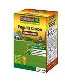 Best Les engrais - Solabiol SOGAZMOU100 Engrais Gazon Anti-Mousse, Marron, 3,5 kg Review