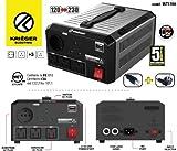 KRIËGER 1700 Watt Spannungswandler 110/120V - 220/230V mit CE/UL/CSA Zulassung