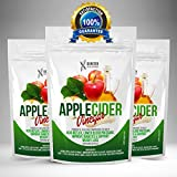 Apple Cider Vinegar Tablets 500mg Pills - UK Made GMP Quality ACV Mother Capsules from Genetex Developments Ltd