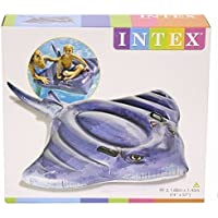 Intex Piscina Gonfiabile per Stingray cavalcabile/spiaggia galleggiante. Dimensioni 188x