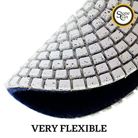 Stonecraft TM professional grade Diamond Polishing Pads 4