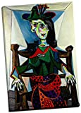 Pablo Picasso Dora Maar Au Chat Leinwanddruck Bild Wall Art Großer 76,2x 50,8cm