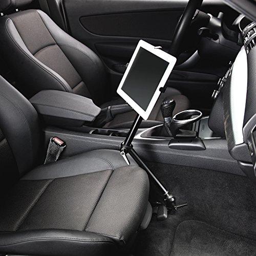 "Infuu Holders Auto KFZ Halterung für iPad 1 2 3 4 Air/Galaxy Tab Note/Tablet-PC 7-11"" Zoll universal stabil aus Aluminium 229"
