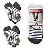 Non Slip Skid Socks with Grips, For Hospital Rehab, Traveling, Yoga, Pilates, Barre