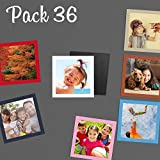Revelado de fotos imán - Imprime tu pack de 36 copias 9x9 cm