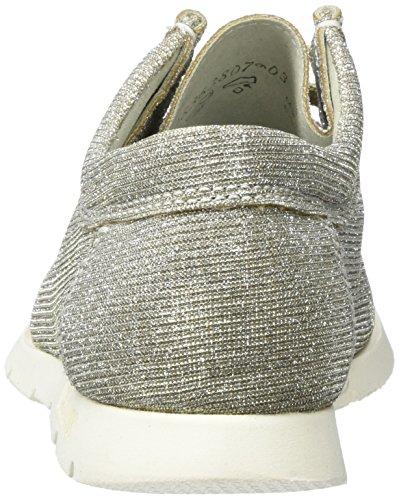 Sioux Grashopper-d-141, Mocassins (loafers) femme Silber (Platinum-silver)
