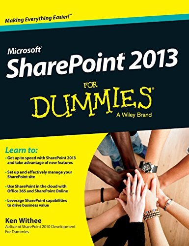 Sharepoint 2013 for Dummies by Ken Withee (2015-07-13)
