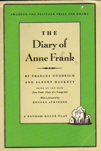 Diary of Anne Frank Unstated edition by Goodrich, Frances (1993) Paperback