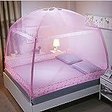 BIXINYAAN Moskitonetz Feinmaschiges Kasten- Moskitonetz-Insektenschutz Mückenschutz zu Hause im Zelt