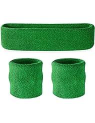 Suddora Schweißband-Set, Stirnband und Armbänder, für den Sport