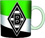 """VFL Borussia Mönchengladbach 16984 Fohlenelf-Artikel - Tasse """"Schrägstreifen"""" - Fassungsvermögen:"""