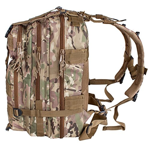 CAMTOA Leichtgewicht Erweiterbar Trekkingrucksücke Wanderrucksack, Outdoor Camping Backpack Sportrucksack,auswahl CP