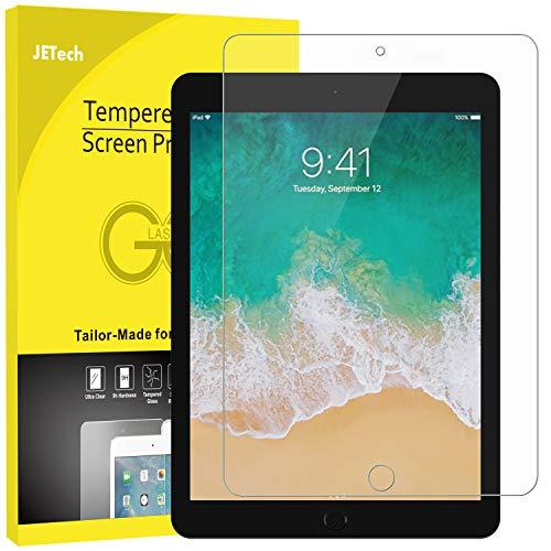 JETech Schutzfolie für iPad Pro 12,9 (2015 & 2017 Modell), Gehärtetem Glas Bildschirmschutzfolie