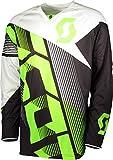 Scott 350 Dirt MX Motocross Jersey/DH Fahrrad Trikot schwarz/grün 2018: Größe: L (50/52)
