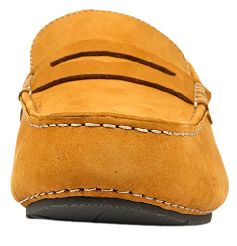 Clarks Marcos Drive, Mocassins (loafers) homme Marrone (Marrone (Braun))