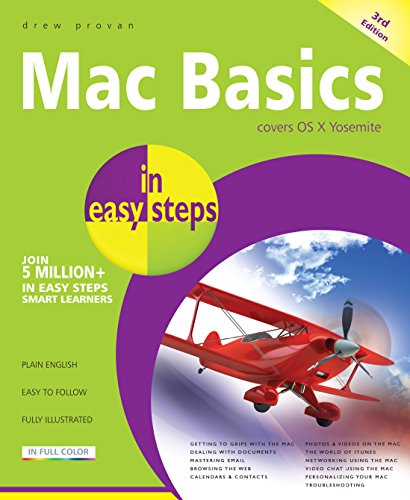 Mac Basics in easy steps: Covers OS X Yosemite (English Edition) por Drew Provan