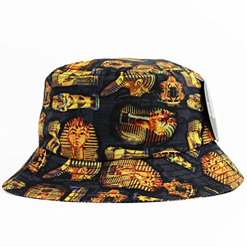 Egyptian Bucket Hat Chapeau
