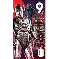 """Doctor Who """"Age 9"""" Birthday Card"""
