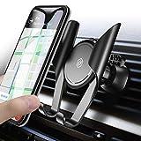 Handyhalterung Auto,Seiaol Universale Handy Halterung KFZ Lüftung Lüftungsschlitz Belüftung mit Automatische Erinnerungsfunktion für iPhone X/8/7 Plus/6S,Samsung S9/S8 Edge,Huawei,LG und Mehr