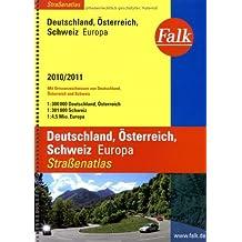Falk Straßenatlas Deutschland /Österreich /Schweiz /Europa 2010/2011