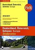 Falk Straßenatlas Deutschland/Österreich/Schweiz/Europa 2010/2011