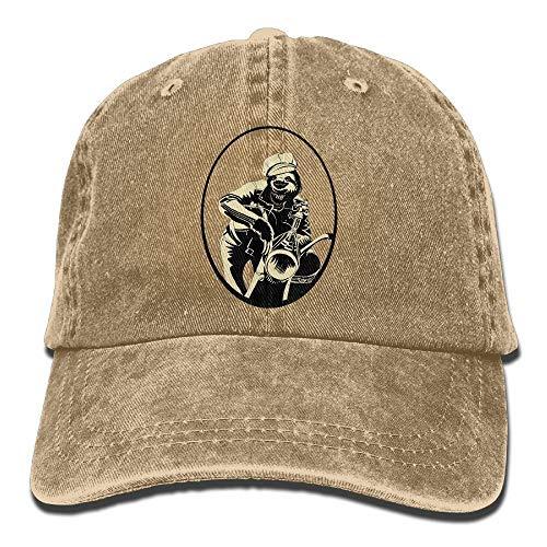aseball Caps,Hüte, Mützen, Classic Baseball Cap, Sloth Denim Baseball Caps Hat Adjustable Cotton Sport Strap Cap for Men Women ()