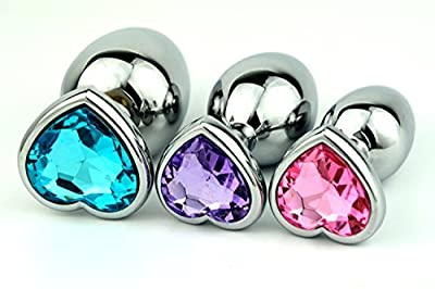 YiFeng Metal Jeweled Butt Plug 3