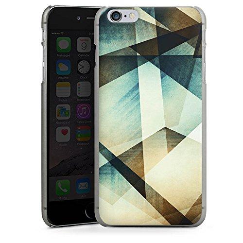 Apple iPhone X Silikon Hülle Case Schutzhülle Muster Grafisch Grün Hard Case anthrazit-klar