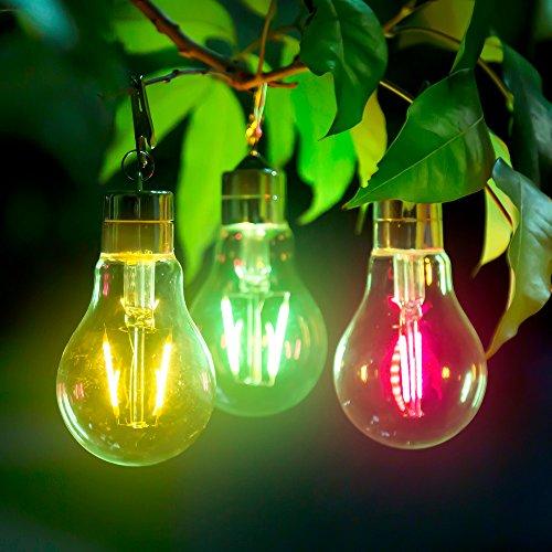 Wasserdichte drehbare Garten-Camping im Freien hängende LED-Licht-Lampen-Partei (Zufällig)